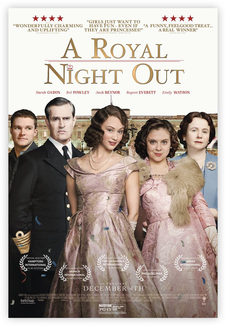 Official 'A Royal Night Out' Movie Poster